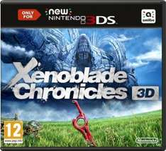 [amazon.co.uk] Xenoblade Chronicles (New 3DS & 3DS XL Only) [3DS] für 28,49€ inkl. Versand