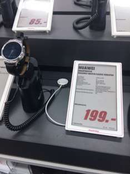 [Lokal Mediamarkt Steglitz] Huawei Watch Classic / Active Smartwatch mit langer Akkulaufzeit & IP57 für 199€