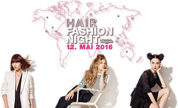 GRATIS HAIRSTYLING (auf trockenem Haar) beim teilnehmenden L'Oréal Professionnel Friseur (12. Mai)