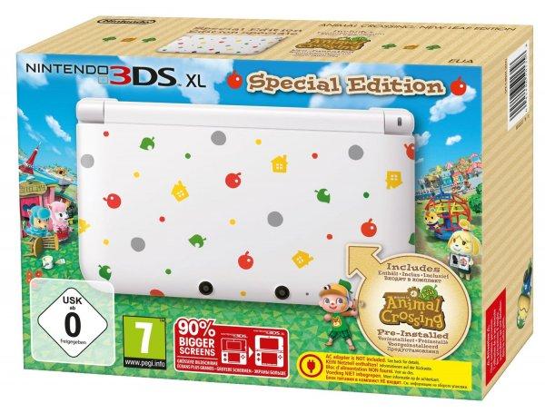 "Nintendo™ - Konsole ""3DS XL"" (Limited Edition inkl.Animal Crossing) für €133,99 [@eBay.de]"