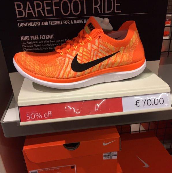 Nike Free 4.0 Flyknit Orange Nike Outlet Soltau