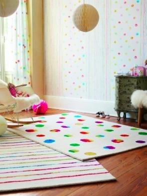 [windeln.de] Esprit Teppich (150x80cm) Funny Dots für 34,99€ inkl. VSK statt ca. 47€
