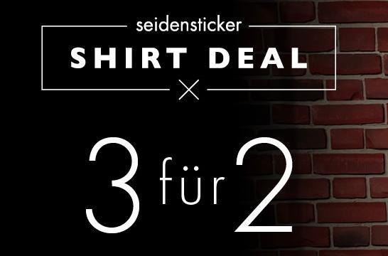[Seidensticker] 3 für 2 Aktion auf ausgewählte Hemden, z.B. 3x Regular Fit Splendesto für 100,93€ statt ca. 150€