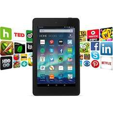 "Fire HD 6, 6"" HD Display, Wi-Fi, 8 GB - Includes Special Offers, Black"