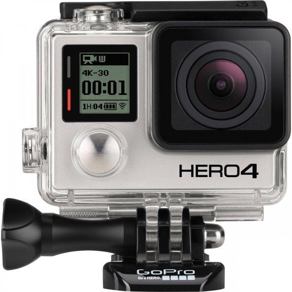 GoPro Hero 4 Black   Silver - 339 / 299 Euro - (Idealo: Black 420,bzw.339)
