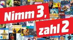 [Mediamarkt] 3 für 2 Aktion im Outlet auf Entertainment (Spiele PS4 / XBO, Filme etc.): z.B. alle 3 Hero-Boxen (Spiderman, Ghostbusters, Underworld) für 57,99€
