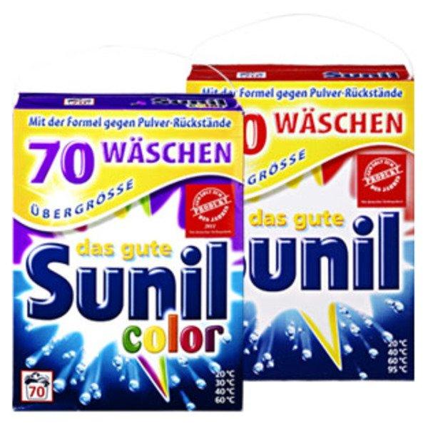 [LOKAL] Kaufland Siegen -Fludersbach- Sunil Color- und Vollwaschmittel 4,76 kg für 5,99€ (0,09€/WL)