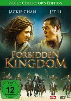 [Mediadealer] Jet Li-Jacki Chan/Forbidden Kingdom - 2-Disc Collector's Edition (DVD) für 2,98€ inc. Versand