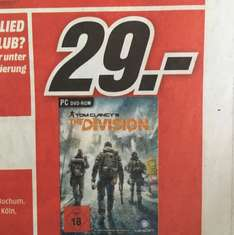 (Lokal NRW) The Division PC @Mediamarkt