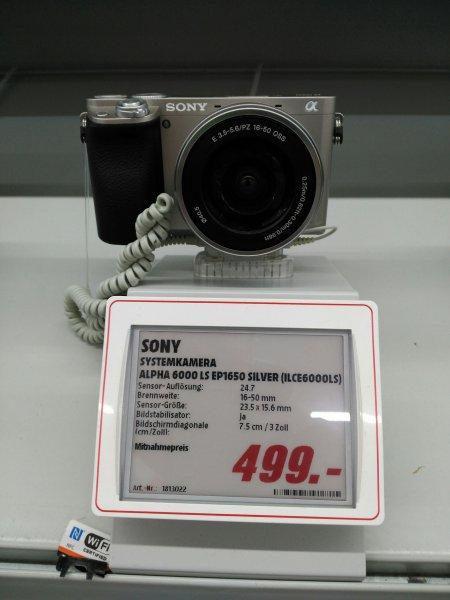 [Lokal MM Neukölln] Sammeldeal z.B. Sony Alpha 6000 - 499€, Nikon D3300 -399€, JBL Charge 2+ - 99€