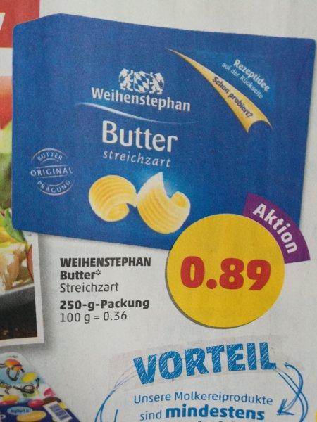 [PENNY] Weihenstephan Butter 250g für 0,89 Euro ab 18.04
