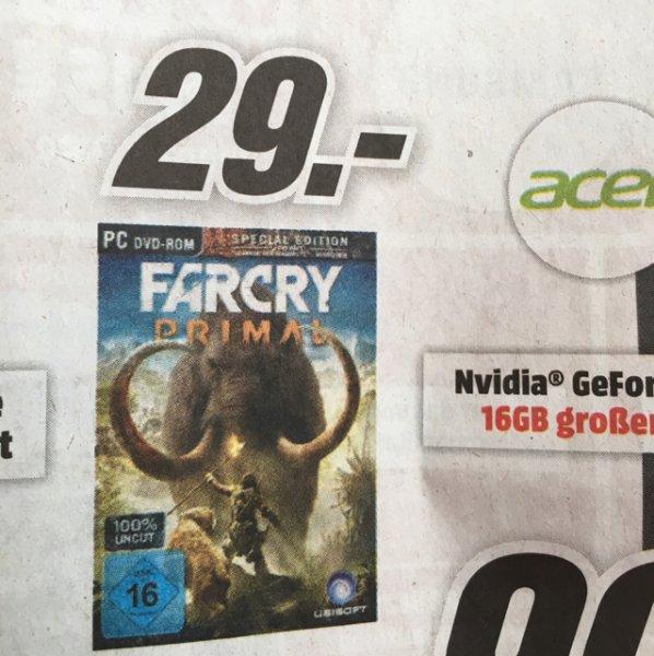 (Lokal NRW) Farcry Primal PC @Mediamarkt