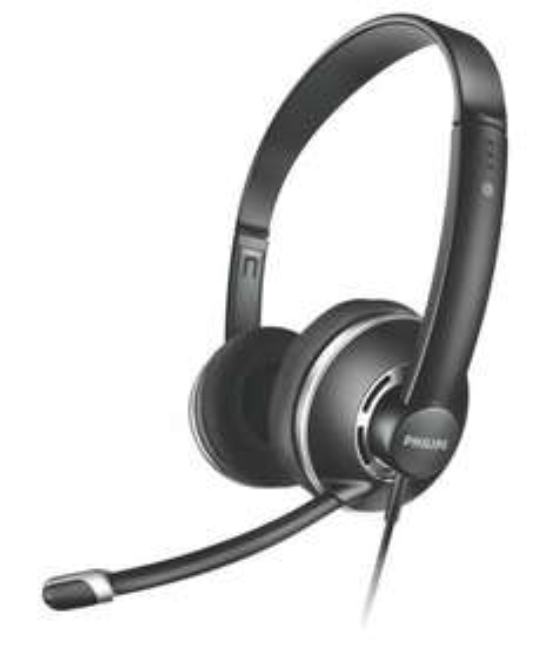[Amazon] [WHD] Philips SHM7410U Full Size Headset mit Lautstärkeregelung im Kabel und Noise Cancelation Mikrofon schwarz