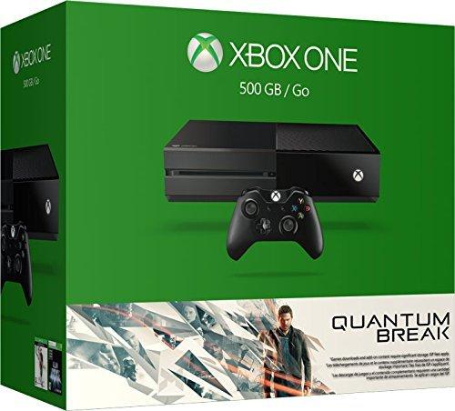 Microsoft Xbox One Konsole 500 GB Schwarz mit Quantum Break und Alan Wake inkl. Vsk für ca. 282 € @ amazon.uk
