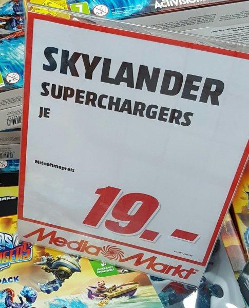 [Media Markt lokal] Skylanders Superchargers Starter-Set PS4, XO, Wii U, X360, PS3 für 19€