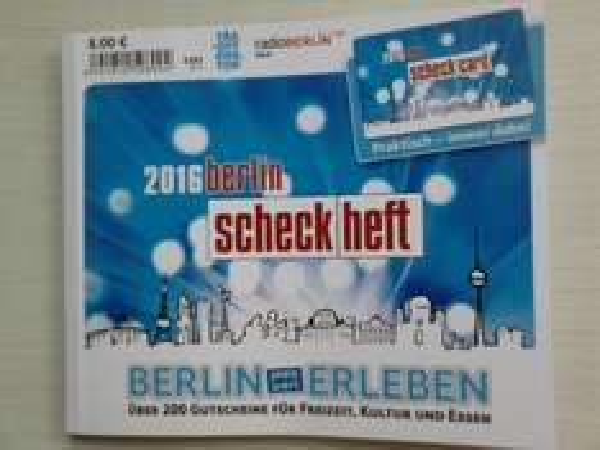 Berliner Scheckheft  2016