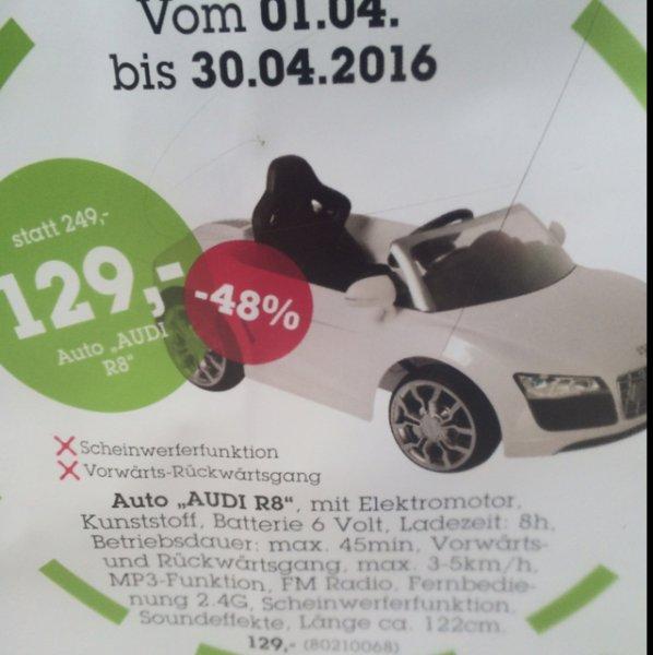 Lokal Mömax Eching - Audi R8 für Kinder inkl. Fernbedienung