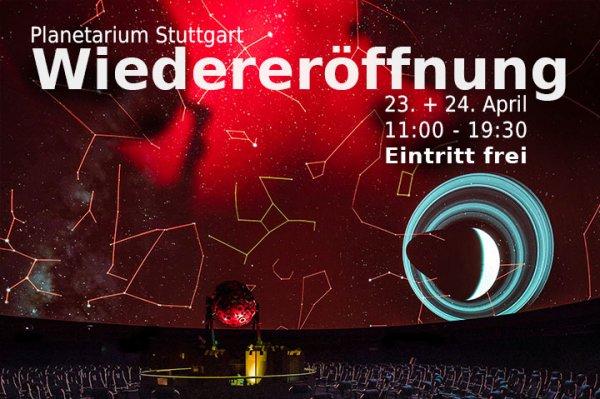 Stuttgart: Planetarium 23 + 24.4 -freier Eintritt