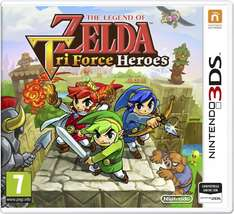 [Amazon.it] The Legend of Zelda: Triforce Heroes (Nintendo 3DS) für 19,58€