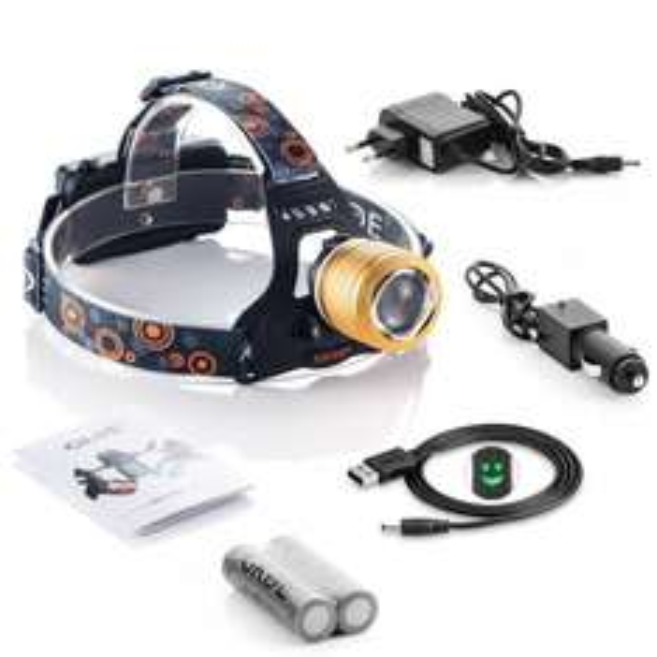 GRDE LED Stirnlampe mit hochleistungs LED