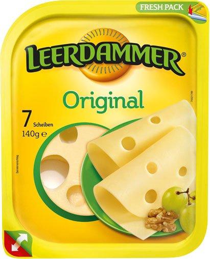 [Kaufland] Leerdamer Käse, verschiedene Sorten, je 100-170g für 0,99€