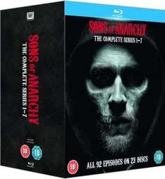 Sons of Anarchy - Season 1-7 Blu-Ray (Original-Ton) für 61,55€/73,24€ @Zavvi