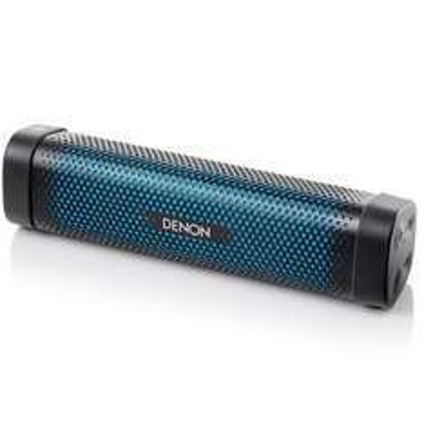[Amazon & Saturn ] Denon DSB100BKEM Envaya Mini tragbarer Bluetooth Lautsprecher (NFC, AUX-Eingang, Mikrofon für Freisprechfunktion, Akku) schwarz