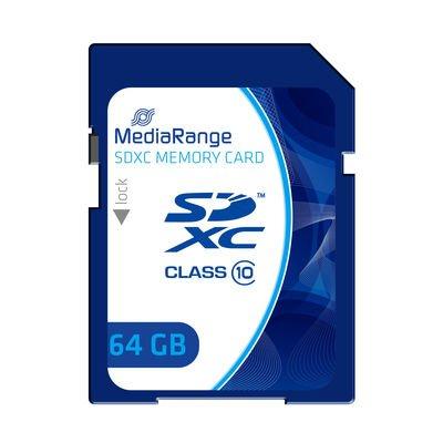 MediaRange SDXC Speicherkarte Class10 - 64 GB ** 8,49 EUR **