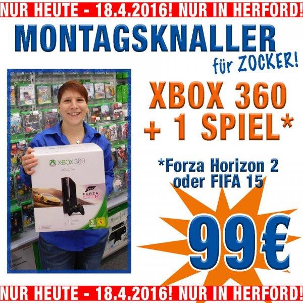 [LOKAL HF: Expert Döring]XBOX 360 500gb/go inkl. Forza Horizon 2 oder Fifa 15