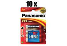 10 x 4er-Pack Panasonic Pro Power Batterie LR 6 PPP (AA) 1,5V für 18,88€ frei Haus - [@dealclub]