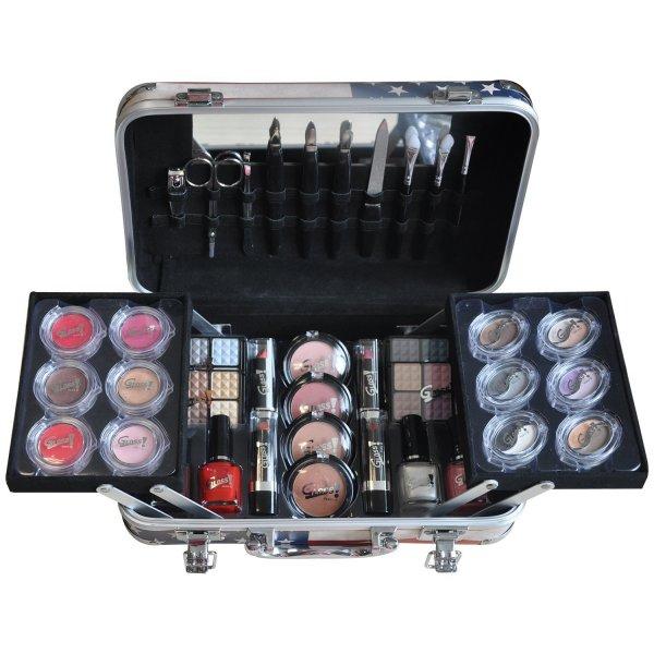@Amazon: GNTM Starter-Kit Gloss! Make-up Schminkkoffer - USA Fashion Week - 64 teilig, 1er Pack statt 40€