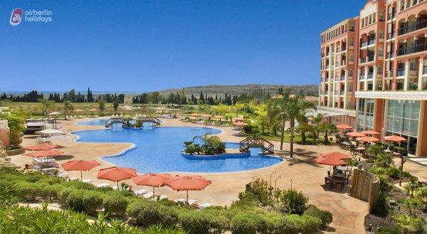 10 Tage Alicante im Mai, 4* Golfhotel, inkl. Flug, Mietwagen, Frühstück ab Berlin für 990€ für 2 Personen