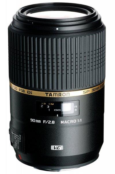 [Amazon.es] Tamron SP AF 90mm f2.8 DI VC USD Makro (Canon) für 300,09 €
