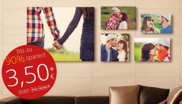 Foto Leinwand 20x30cm für 3,50€ + einmalige 6,90€ VSK bei meinXXL