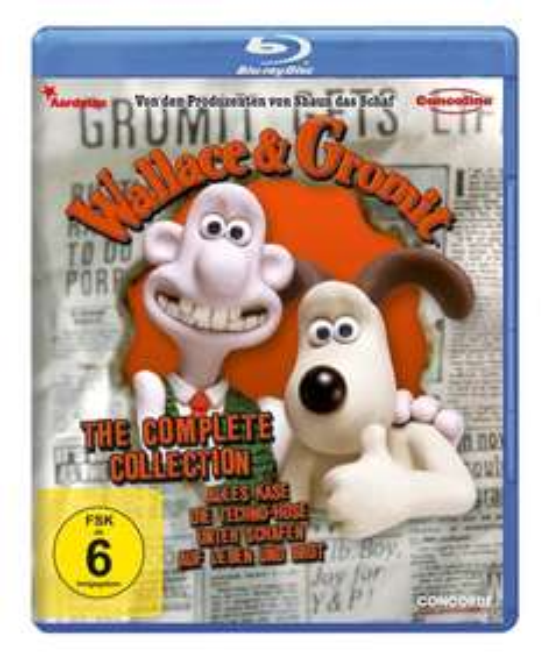 [Amazon Prime + Saturn] Wallace & Gromit: Complete Collection (Bluray) für 9,99€
