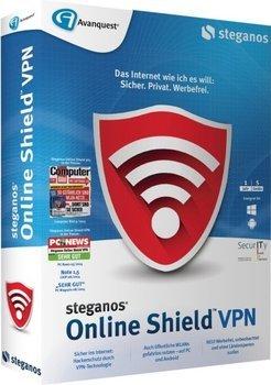 [Steganos] Steganos Online Shield VPN kostenlos (statt 24,99€) (Windows & Android) (5GB Traffic / Monat)