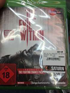 [lokal Berlin] Saturn am Alex The Evil Within (Xbox One) für 9,99€ statt 19,85€