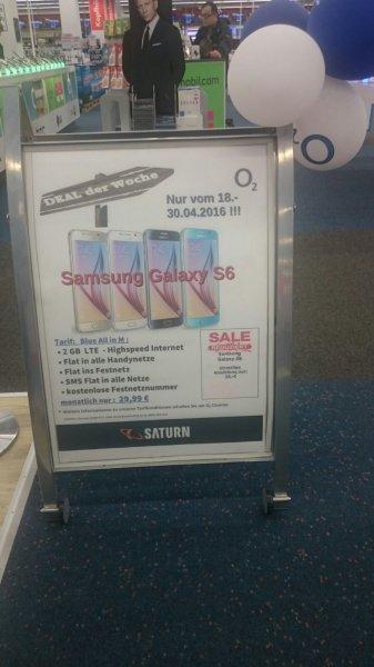 Samsung Galaxy S6 im Tarif o2 Blue All in M (2GB) inklusive