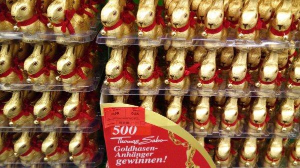 Lindt GOLDHASE 100 g Metro bundesweit 0,59 Euro