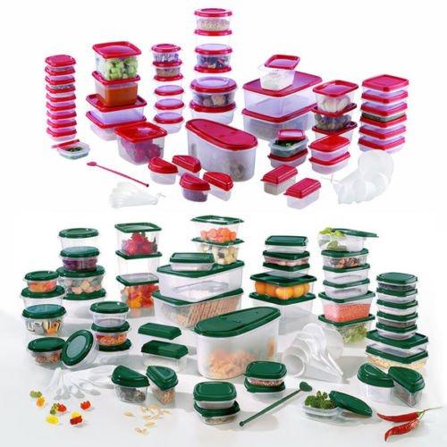 Ebay - Maxxcuisine Gefrierdosen 112 teilig rot oder grün