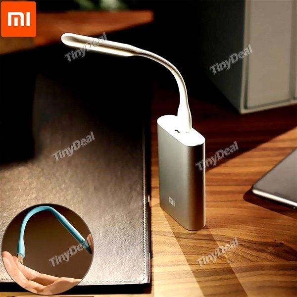 [tinydeal] (Wieder da!) Upgraded Portable Xiaomi USB LED Licht in weiß (Versand aus Deutschland)