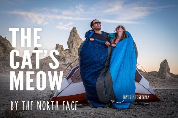 [Unterwegs] 3-Season Schlafsack The North Face Cat's Meow L zum Tiefstpreis