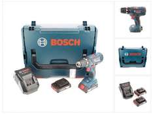 [Rakuten] Bosch GSR 18-2-LI Plus Professional 2 x 2,0A h + L-Boxx - 8%-Rakuten - Bosch Cashback April - Qipu ~ 147€