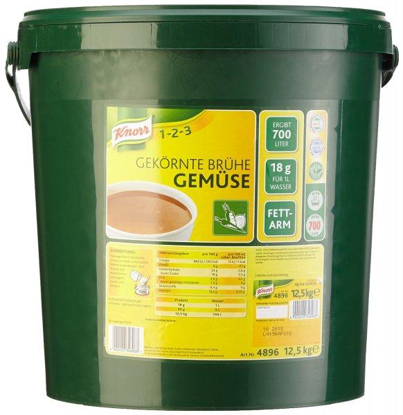 [Amazon] Preisfehler: Knorr Gekörnte Brühe Gemüse 12.5 kg