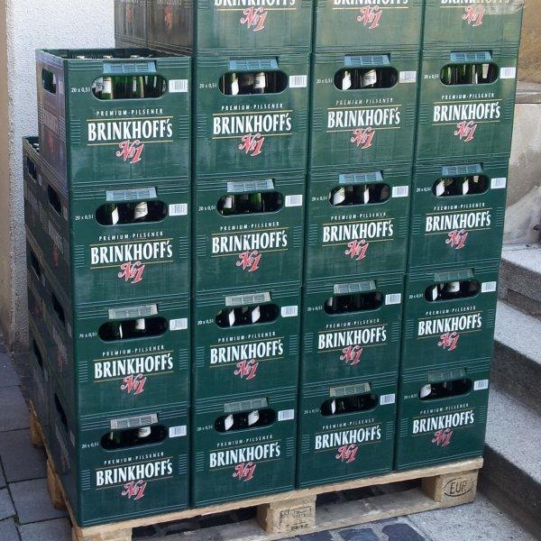 *lokal* Real,- Markt in Dortmund Aplerbeck eine Flasche Brinkhoffs gratis
