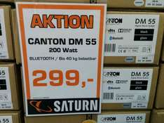 [Saturn] lokal / Canton DM 55 2.1 Virtual-Surround-System für 299€ (idealo 424,90) @ Saturn Bremen-Habenhausen