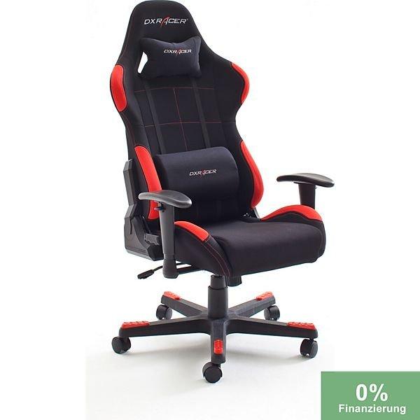 DXRacer 1 schwarz/rot oder schwarzt/grau