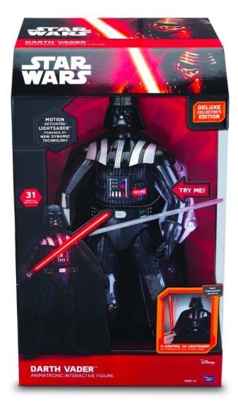 [Amazon Prime] MTW Toys - Star Wars - Interaktiver Darth Vader, Actionfigur mit Funktion, 43 cm für 44,58€ statt ca. 99€