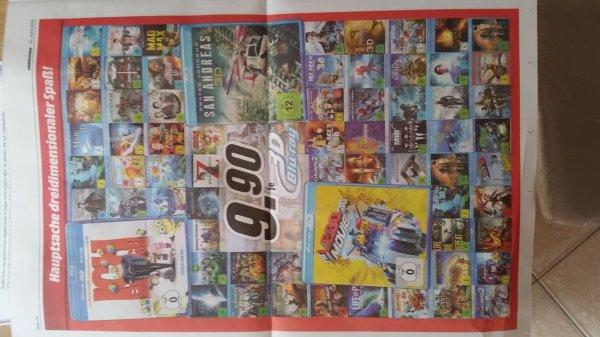 [Lokal Hamburg Media Markt] Viele 3D Blu-ray's je 9.99