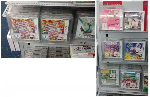 Mainz Saturn lokal - Nintendo 3DS Spiele (Puzzle & Dragons + Puzzle & Dragons Super Mario Bros. Edition für 4,00 € und weitere Spiele zwischen 5,00 € und 10,00 €)